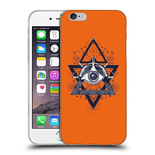 GoGoMobile Coque de Protection TPU Silicone Case pour // Q08540632 Religion 18 sécurité Orange // Apple iPhone 7