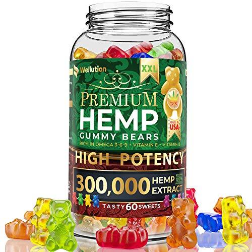 Hemp Gummies Premium XXL