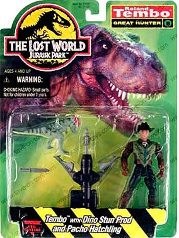 Jurassic Park The Lost World Roland Tembo
