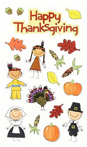 me & my BIG ideas mambiSTICKS Sticker Pack, Thanksgiving