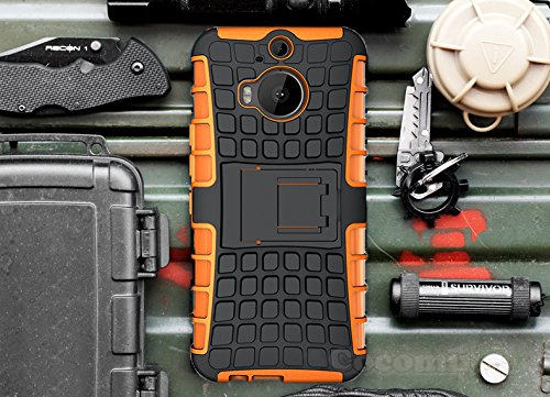 HTC One M9 Plus Case, Cocomii Grenade Armor NEW Full Body Dual Layer Rugged Cover
