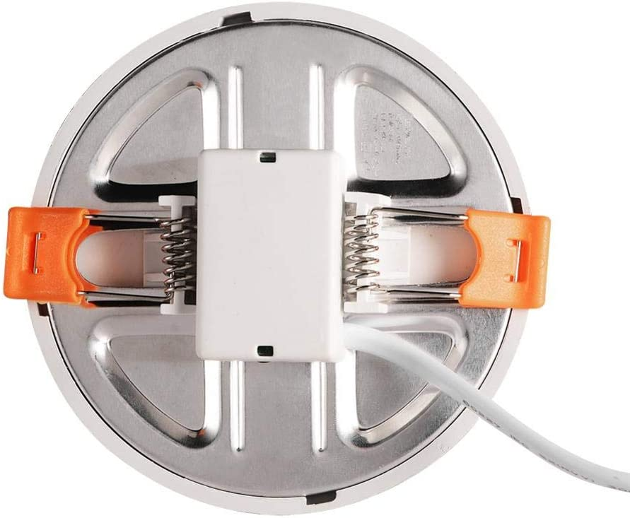 Wintesty LED Panel 6W Aufbaupanel Freie /Öffnung Panel Leuchte Cool White 12W 420 Lumen Runde Panel Lampe Accepted