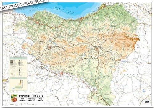 Euskal Herriko Mapa Politikoa.Euskal Herria Mapa Detraiteurvannederland