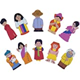 People of the World (Series 1) Finger Puppets