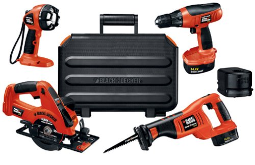 black and decker tools. black \u0026 decker fsc414k-2 14.4-volt firestorm 4-tool combo kit - and tool amazon.com tools i