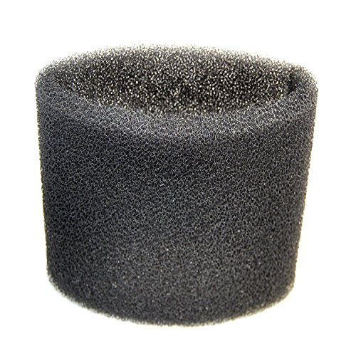 HQRP Foam Filter Sleeve for Shop-Vac BullDog Series 585-03-00, 587-08-00; Blower Vac Series 963-12-00, 963-11-04 Wet Dry Vacuums + Coaster