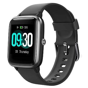 Willful Smartwatch,Reloj Inteligente con Pulsómetro,Cronómetros,Calorías,Monitor de Sueño,Podómetro Pulsera Actividad Inteligente Impermeable IP68 ...