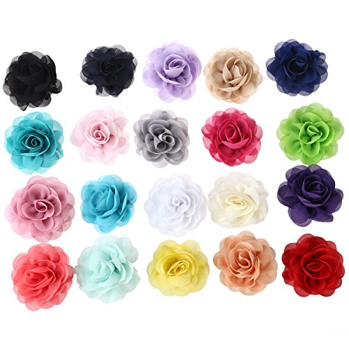 Lurrose 20pcs Rose artificial hair clip fairy bride, used for sale  Delivered anywhere in Canada