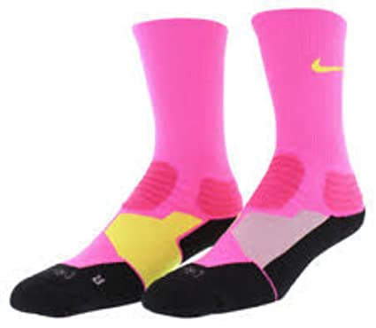 Amazon.com: Nike Hyper Elite Basketball Crew Calcetines ...
