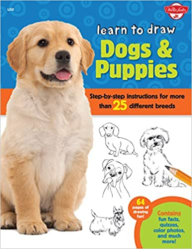 Learn To Draw Dogs Puppies Step By Step Instructions For More