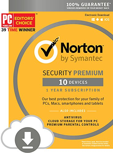 Norton Security Premium – 10 Dev...