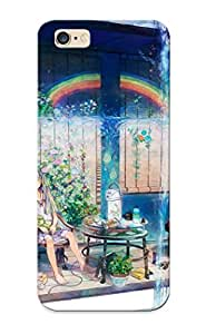 64049485949 With Unique Design Iphone 6 Plus Durable Tpu Case Cover Anime Girl On A Balcony