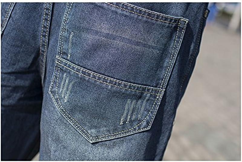 cystyle męskie dżinsy Hip Hop dżinsy spodnie Hipster Style Baggy RAP Denim Straight Leg Loose Fit: Odzież