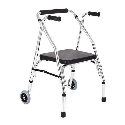 Marco Zimmer, andador con ruedas de aluminio for personas mayores ...