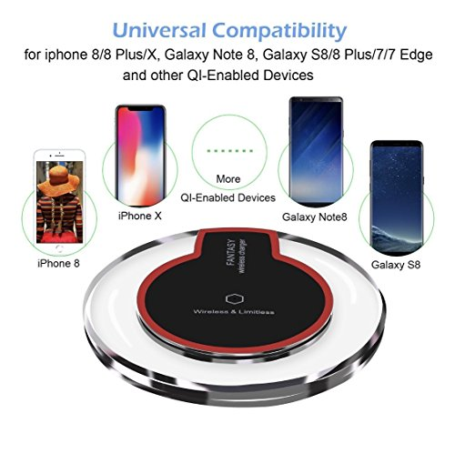 ✔️ IPHONE X , 8, 8 PLUS, WIRELESS CHARGER AND ALL QI ENABLED DEVICES