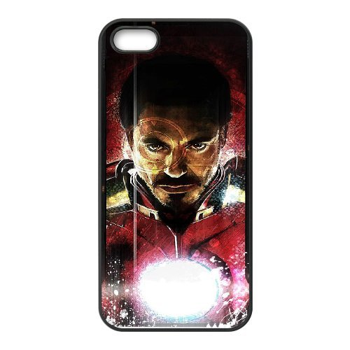 LP-LG Phone Case Of Iron Man For iPhone 5,5S [Pattern-3]