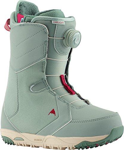 (Burton Limelight BOA Snowboard Boots Sage Womens Sz 7)