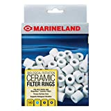 MarineLand Ceramic Filter Rings 140 Count, Supports Biological aquarium Filtration, Fits C-Series And Magniflow, 140 rings
