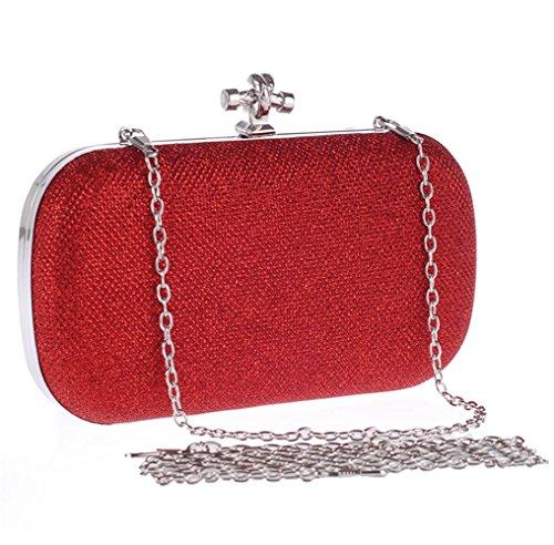 LINNBER femme Pochette femme femme LINNBER pour Pochette red pour Pochette pour LINNBER red wwxA6H