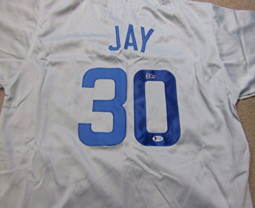 Jon Jay Autographed signed Chicago Cubs Jersey