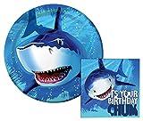 Best Creative Converting Friends Plates - Shark Splash Birthday Lunch Napkins & Dinner Plates Review