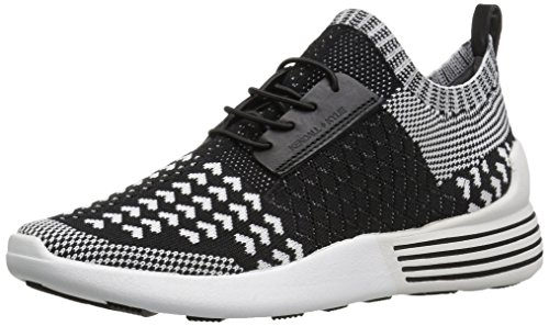 KENDALL + KYLIE Women's Brandy Sneaker, Black/White, 8.5 M - Kylie And Black And Kendall White