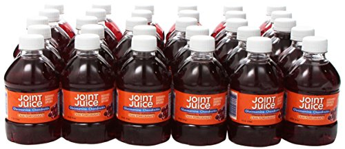 Joint Juice Glucosamine and Chondroitin  Supplement Drink   Cranberry Pomegranate   8-Ounce  30-Count For Sale