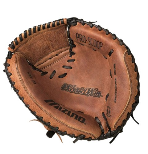 Mizuno World Win Series GXC73 Catcher's Mitt (Right-Handed Throw 34.00'') by Mizuno