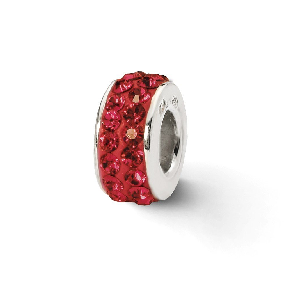 Sterling Silver Reflections Scarlet Double Row Elements Bead