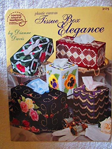 - Plastic Canvas Tissue Box Elegance - American School of Needlework Booklet #3175
