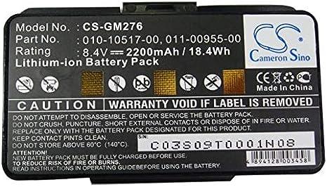 Cameron Sino Replacement Battery for Garmin GPS Navigator GPSMAP 276Cx