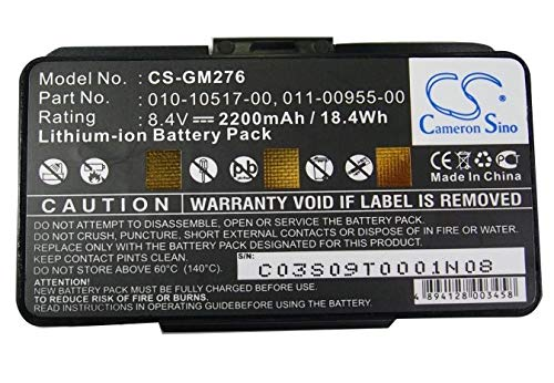 Cameron Sino Extended Battery for Garmin GPSMAP 276 276c 296 G396 496