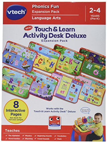 VTech Touch and Learn Activity Desk Deluxe Expansion Pack-Phonics Fun