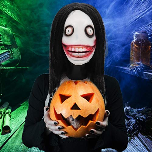 Stylishbuy Halloween Mask Latex Scary Clown Mask Joker Mask Creepy Scary Halloween Cosplay Costume Mask for Adults Party Decoration Props -