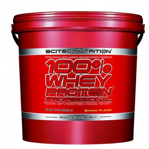 100% whey protein professional - 11 lbs - Banana - Scitec nutrition by Scitec Nutrition