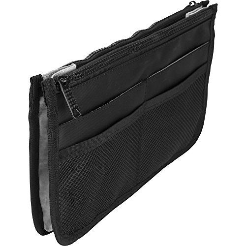 Casemetic PC05 Mini Travel Makeup Bag Purse Organizer with 2 (Closure Two Pockets)