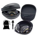 Nbbox Hardshell Earphone Headset Headphone Protection Case For Plantronics BackBeat PRO Wireless Noise Canceling Hi-Fi Headphones With Brush and Velvet Bag