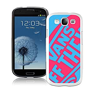 Unique Samsung Galaxy S3 I9300 Case ,Hot Sale And Popular Designed Case With vans 2 White Samsung Galaxy S3 I9300 Cover Phone Case