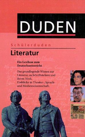 Duden: Schülerduden. Die Literatur