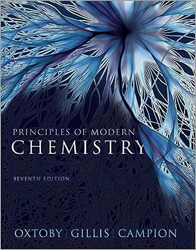 Principles of Modern Chemistry: David W  Oxtoby, H  Pat