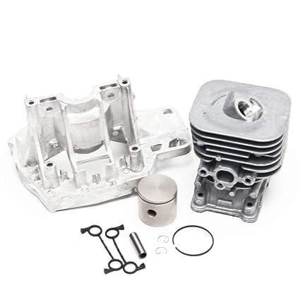 Amazon.com: Husqvarna 545003378 Line Trimmer Motor Pistón y ...