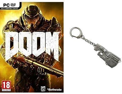 DOOM - Day One Edition con llavero (PC): Amazon.es: Videojuegos