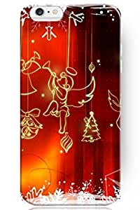 day case New Personalized Hard Golden Holiday Pattern for Apple 6 4.7) Christmas for iPhone Case