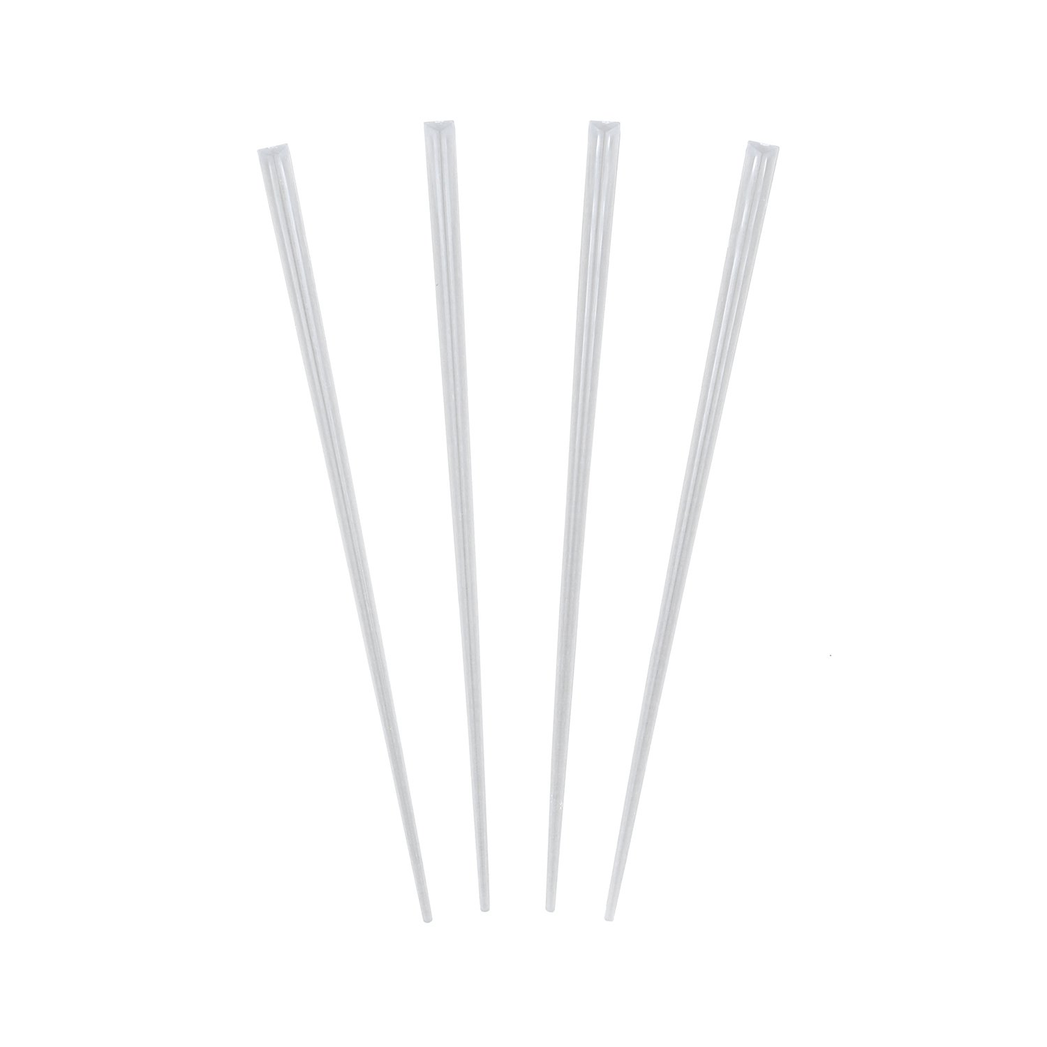 """Royal 6"""" Prism Pick, Clear, Package of 500"""