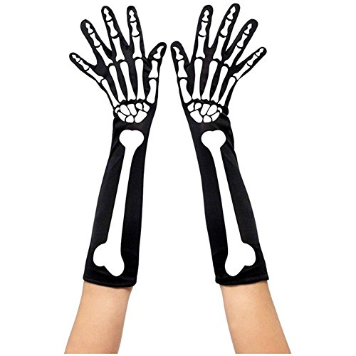 GZQ Skeleton Gloves Female (Skeleton Halloween Costume Ebay)