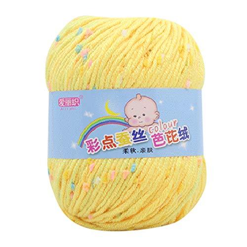 Fxbar 50g Hand Knitting Knicker Yarn Crochet Soft Scarf Sweater Hat Yarn Knitwear Wool ()