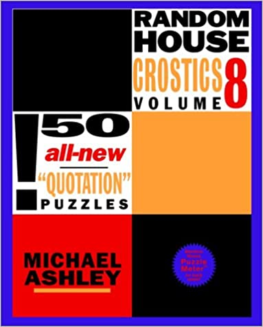 {* EXCLUSIVE *} Random House Crostics, Volume 8 (Other). Review public focus Consumer Yellow Cojin Senalan