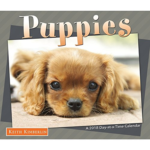 2018 Day-at-a-time Calendar Keith Kimberlin Puppies