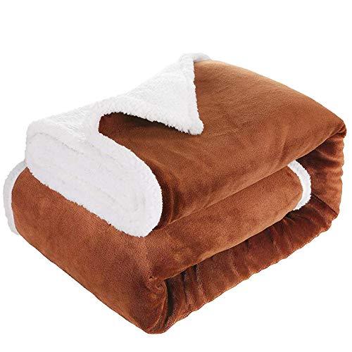 throw blanket sherpa fleece flannel