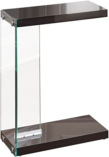 Steve Silver Elaina Chairside End Table in Black
